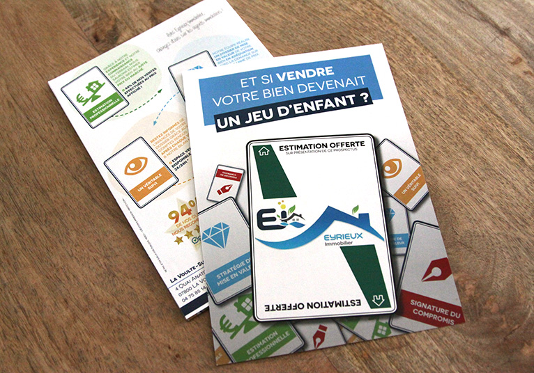 Flyers EYRIEUX IMMOBILIER 01