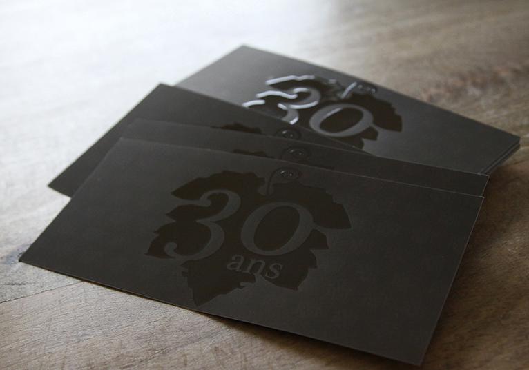 Invitation 30 ans Domaine de Montine 04