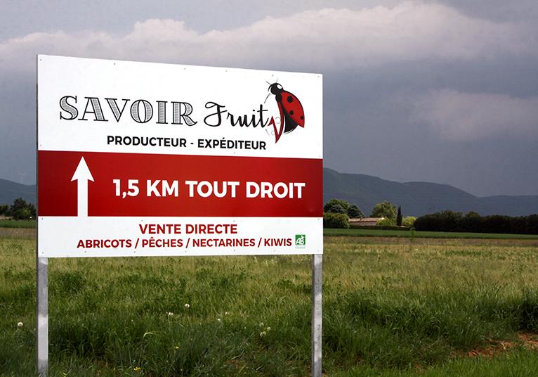 Panneau Dibond Savoir Fruits 03