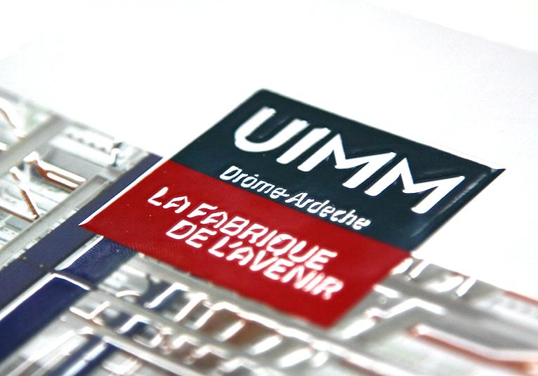 Bloc-notes avec couverture UIMM 26/07 - 02